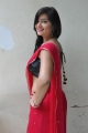 Telugu Actress Ashwini Hot in Red Saree Stills