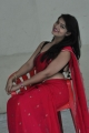Actress Ashwini Hot Stills in Red Saree