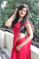 Actress Ashwini Hot in Red Saree Stills