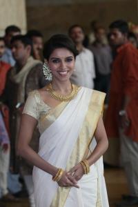 Actress Asin Kerala Traditional Saree Stills