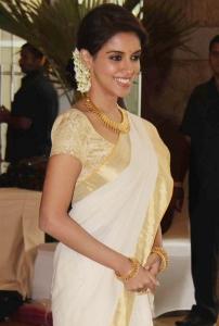 Actress Asin at Genelia Wedding Bash