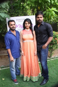 Vignesh Menon, Vidya, Sabarish @ Asurakulam Movie Audio Launch Photos