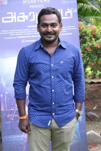 Director Vignesh Menon @ Asurakulam Movie Audio Launch Photos