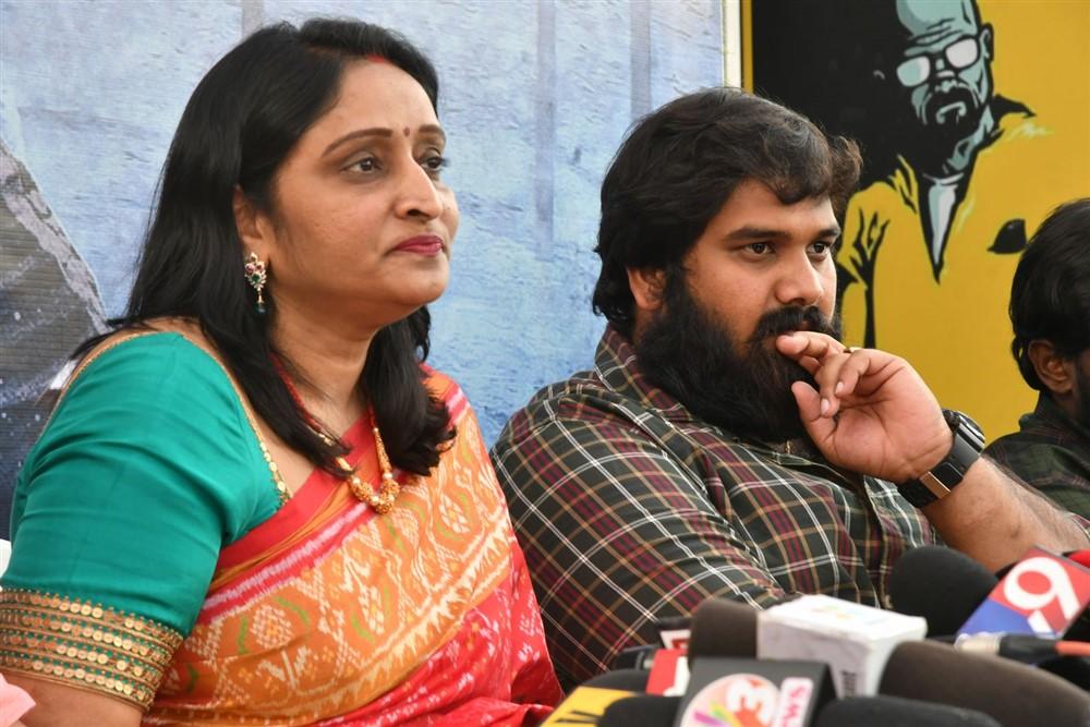 Usha Mulpuri @ Aswathama Movie Release Date Announcement Stills