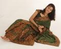 Aswathy Saree Photo Shoot Pics