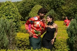 Vennela Kishore, Priyanka Chhabra in Athadu Aame O Scooter Latest Stills