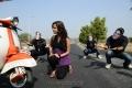 Actress Priyanka Chhabra in Athadu Aame O Scooter Movie New Stills