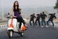 Actress Priyanka Chabra in Athadu Aame O Scooter Movie New Stills