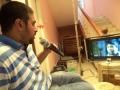 Lakshman Gangaraju at Athadu Aame O Scooter Working Stills