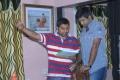 Director Lakshman Gangaraju at Athadu Aame O Scooter Movie Working Stills