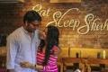 Kalaiyarasan, Janani Iyer in Athey Kangal Movie Stills