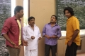 Samuthirakani, Singamuthu, Thambi Ramaiah, Jeevan in Athibar Movie Photos