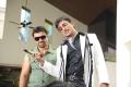 Ajaz Khan, Sonu Sood in Athiradi Vettai Tamil Movie Stills