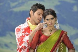 Mahesh Babu, Samantha in Athiradi Vettai Movie Stills