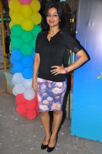 Acterss Varsha Ashwathi @ Athithi Audio Launch Stills