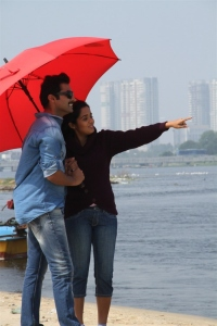 Nandha, Ananya in Athithi Movie Stills