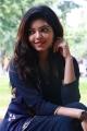Actress Athulya Ravi in Dark Blue Dress Images