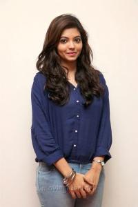 Actress Athulya Ravi New Stills in Blue Shirt