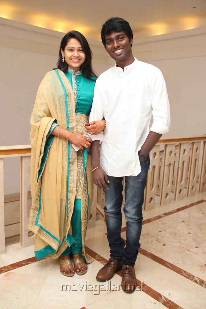 atlee priya wedding invite press meet actors