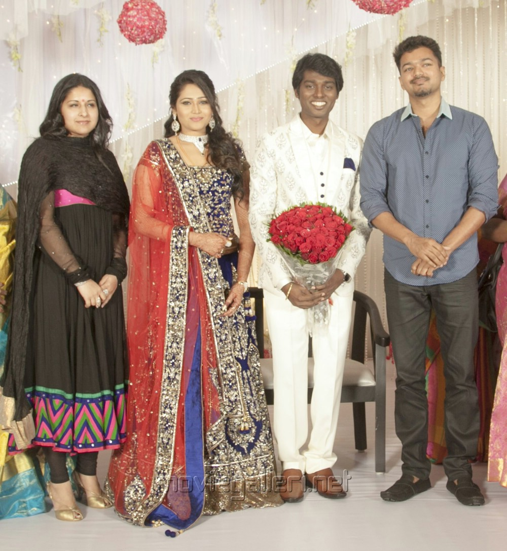 Picture 777944 | Actor Vijay @ Director Atlee Priya Wedding ... for Serial Actress Priya Mohan Wedding Photos  539wja