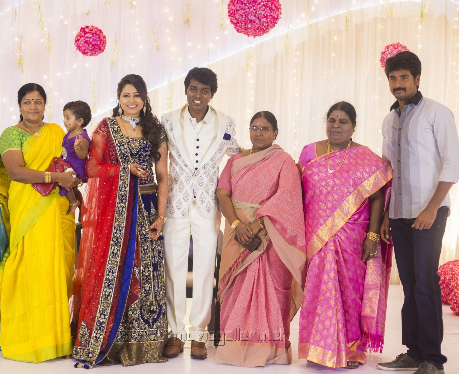 Picture 777885 | Sivakarthikeyan @ Director Atlee Priya Wedding ... for Serial Actress Priya Mohan Wedding Photos  575lpg