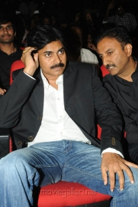 Pawan Kalyan at Attarintiki Daredi Audio Launch Stills