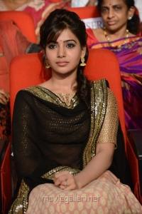 Actress Samantha @ Attarintiki Daredi Movie Audio Release Function Stills