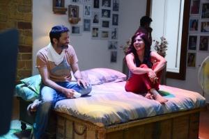 Trivikram Srinivas, Samantha at Attarintiki Daredi Movie Working Stills