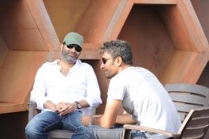 Trivikram Srinivas at Attarintiki Daredi Movie Working Stills