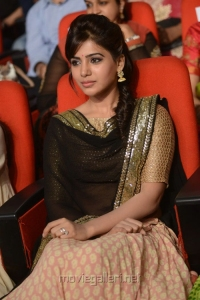 Actress Samantha at Attharintiki Daaredhi Audio Release Stills