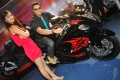 Ganesh Venkatraman, Disha Pandey @ Auto World Expo 2011 Chennai