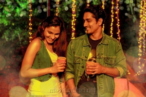 Andrea Jeremiah, Siddharth in Aval Movie Stills