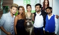 Ishan & Preeti, Avani Modi & Shashank Narsaria (Owner, BE) inaugurating Basic Elements-Pro Unisex Salon in Malad, Mumbai.