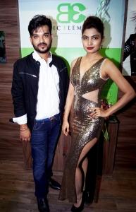 shashank-narsaria-owner-basic-elements-pro-unisex-salon-with-avani-modi-at-the-inauguration-of-basic-elements-pro-unisex-salon-in-malad-mumbai-1