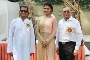 Mr. Chandu, Avani Modi & Rahul Timbadia at 'JJC Utsav Grand Trade & Funfair 2015