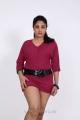 Telugu Heroine Avanika Photo Shoot Pics in Pink Dress