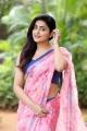 Actress Avanthika Mishra Saree Images @ Meeku Maathrame Chepta Thanks Meet