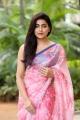 Actress Avantika Mishra Saree Images @ Meeku Matrame Cheptha Thanks Meet