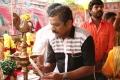 Producer Star Kunjumon @ Avathara Vettai Movie Pooja Stills