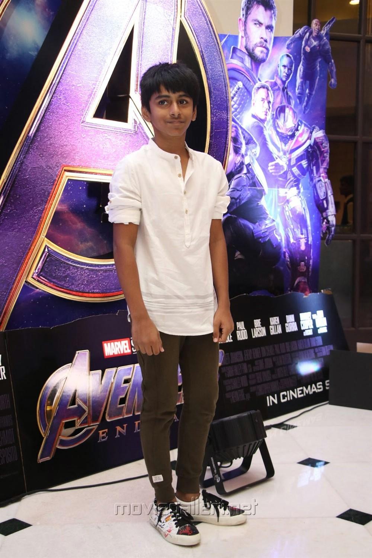 AR Murugadoss son @ Avengers Endgame Press Meet Photos