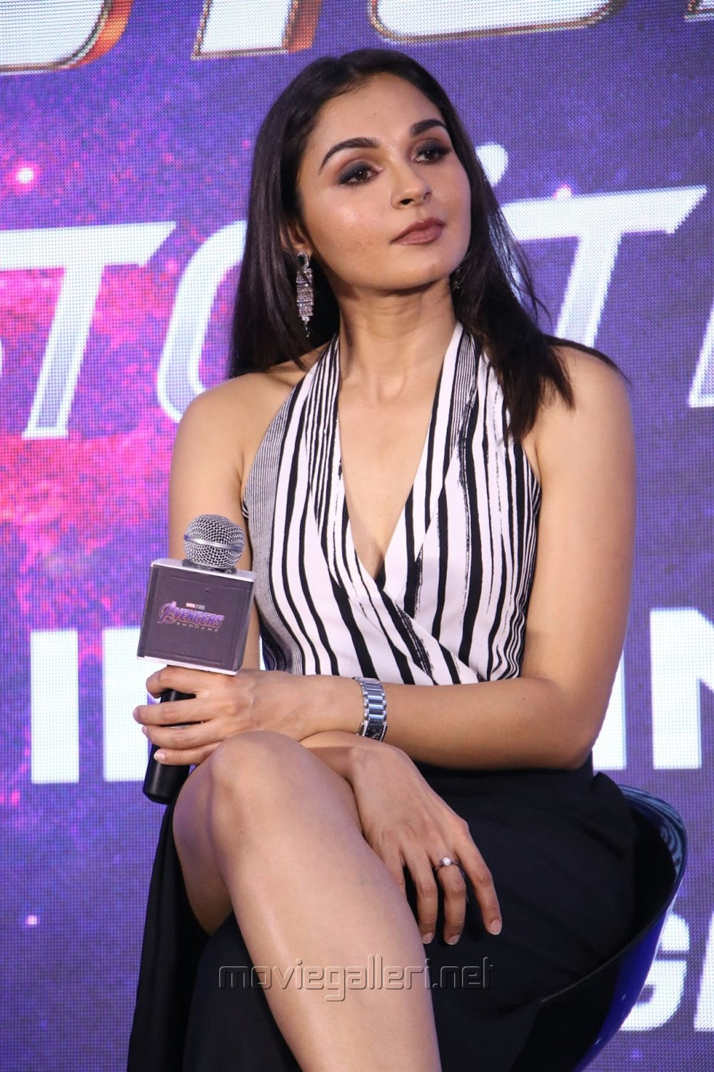 Actress Andrea Jeremiah @ Avengers Endgame Press Meet Photos