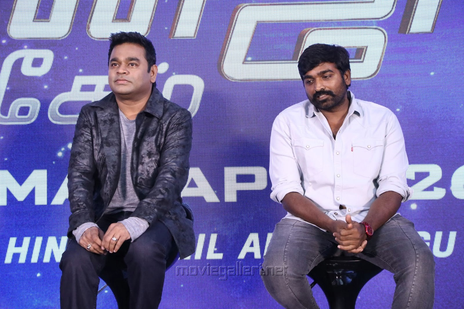 AR Rahman, Vijay Sethupathi @ Avengers Endgame Press Meet Photos