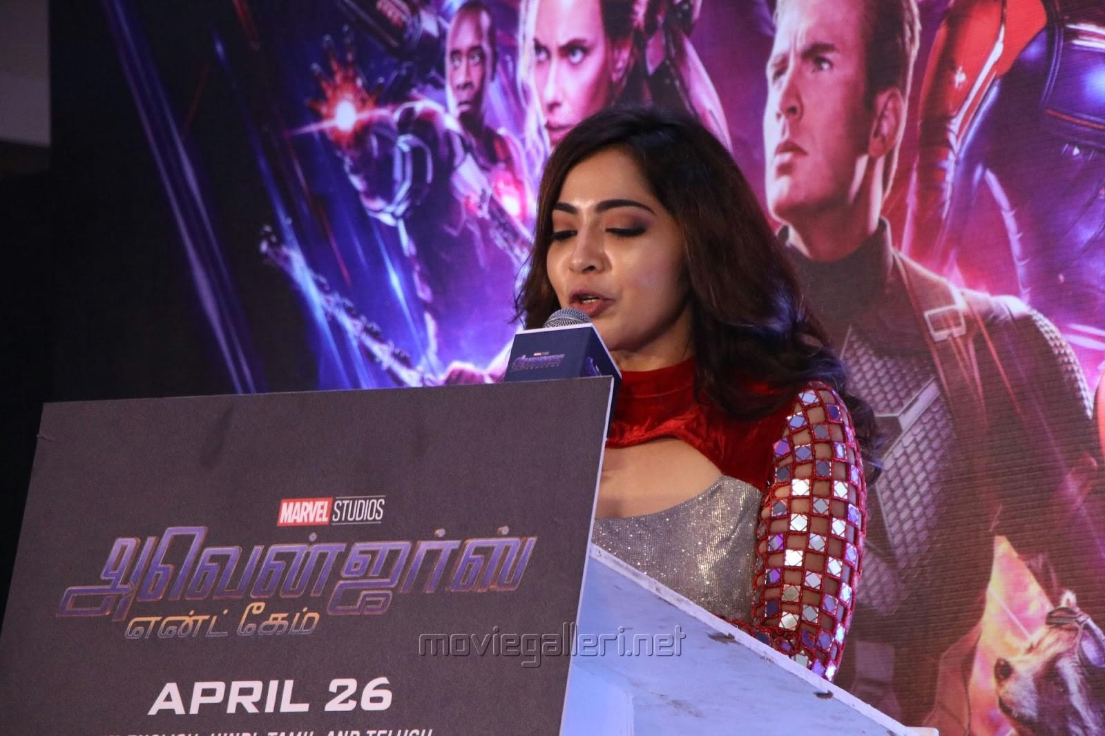 Anchor Ramya @ Avengers Endgame Press Meet Photos