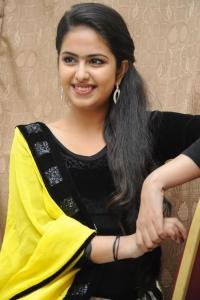Telugu Actress Avika Gor Photos @ Uyyala Jampala Audio Launch