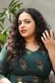 Awe Movie Heroine Nithya Menen Interview Photos