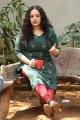 Awe Movie Heroine Nithya Menon Interview Photos
