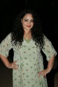 Actress Nithya Menen @ Awe Movie Pre Release Function Stills