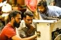 Venkat Mohan, Vishal @ Ayogya Movie Working Images HD
