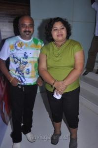 Ganesh, Aarthi at Azhagan Azhagi Movie Audio Launch Stills