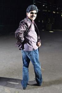 Powerstar Srinivasan at Alagan Alagi Shooting Spot Stills